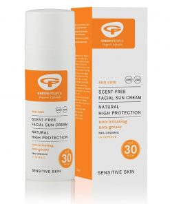 Green People Scent Free Facial Sun Cream