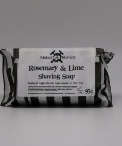 Mutiny Rosemary & Lime Shaving Soap