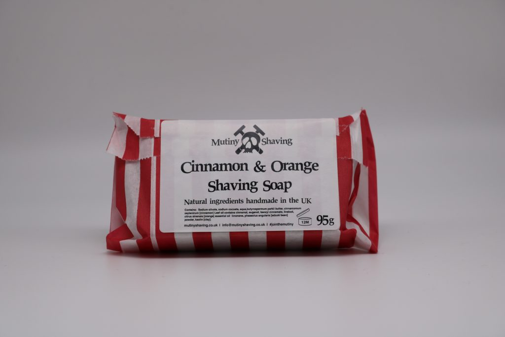 Mutiny Cinnamon & Orange Shaving Soap