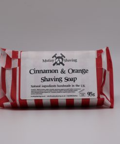 Mutiny Cinnamon & Orange Shaving Soap