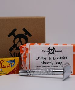 Mutiny Mini Shaving Kit – Orange & Lavender