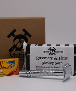 Mutiny Mini Shaving Kit – Rosemary & Lime