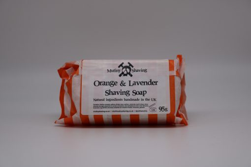 Mutiny Orange & Lavender Shaving Soap