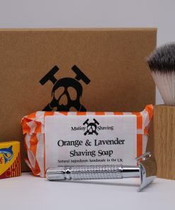 Mutiny Shaving Kit – Orange & Lavender