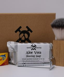 Mutiny Shaving Kit – Aloe Vera (Chrome)
