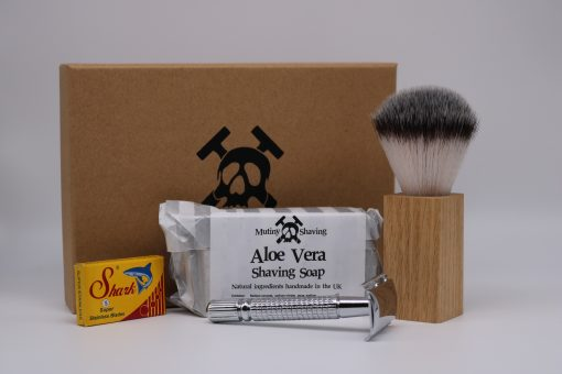 Mutiny Shaving Kit – Aloe Vera (Chrome)