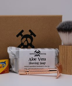 Mutiny Shaving Kit – Aloe Vera (Rose Gold)