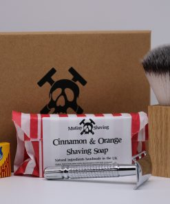 Mutiny Shaving Kit – Cinnamon & Orange