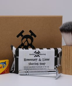 Mutiny Shaving Kit – Rosemary & Lime