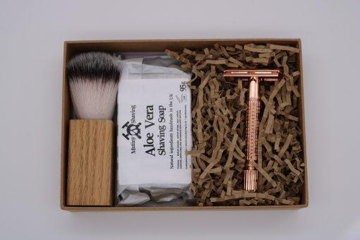 Mutiny Shaving Kit – Aloe Vera (Rose Gold)