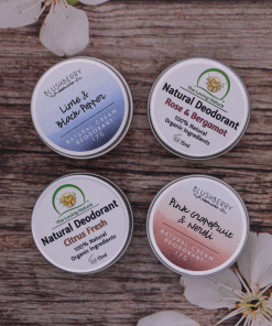 Set of 4 Trial Size Deodorant