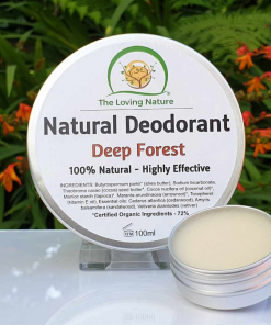The Loving Nature - Natural Deodorant - Deep Forest