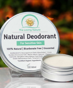 The Loving Nature - Natural Deodorant - For Sensitive Skin – Unscented
