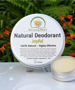 The Loving Nature - Natural Deodorant - Joyful