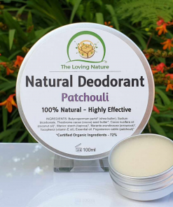 The Loving Nature - Natural Deodorant - Patchouli