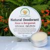 The Loving Nature - Natural Deodorant - Rose & Bergamot
