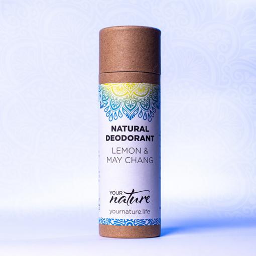 Your Nature - Natural Deodorant - Lemon & May Chang