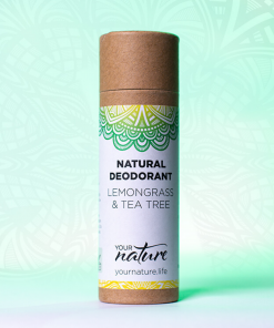 Your Nature - Natural Deodorant - Lemongrass & Tea Tree