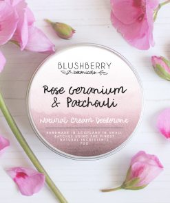 Blushberry Botanicals - Cream Deodorant - Rose Geranium & Patchouli