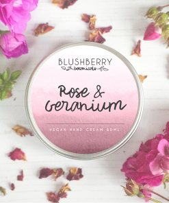 Blushberry Botanicals - Hand Cream - Rose & Geranium