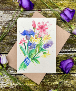Loop Loop - Plantable Seed Card - Bunch of Flowers
