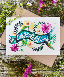 Loop Loop - Plantable Seed Card - Congratulations