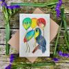 Loop Loop - Plantable Seed Card - Happy Birthday Toucan
