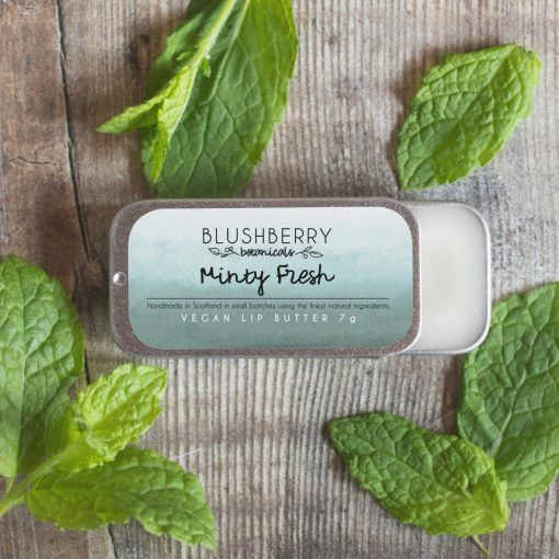 Blushberry Botanicals - Lip Butter - Minty Fresh