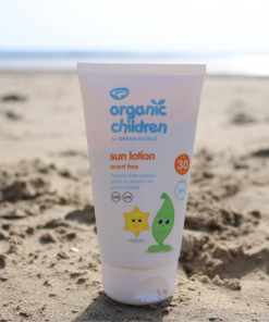 Green People - Organic Children - Scent Free Sun Lotion - SPF30