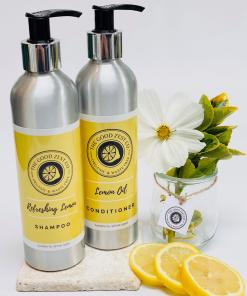 The Good Zest Company - Shampoo & Conditioner Duo - Lemon