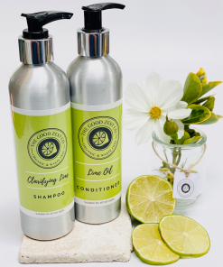 The Good Zest Company - Shampoo & Conditioner Duo - Lime