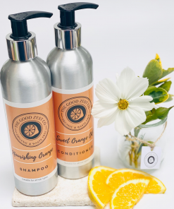 The Good Zest Company - Shampoo & Conditioner Duo - Orange