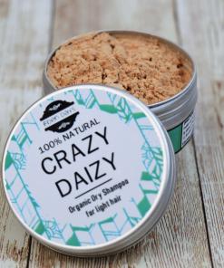 Eden Days Body - Organic Dry Shampoo - Crazy Daizy for Light Hair