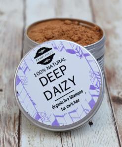 Eden Days Body - Organic Dry Shampoo - Deep Daizy for Dark Hair