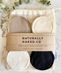 Naturally Naked. Co - Cleansing and Make-Up Remover Pads