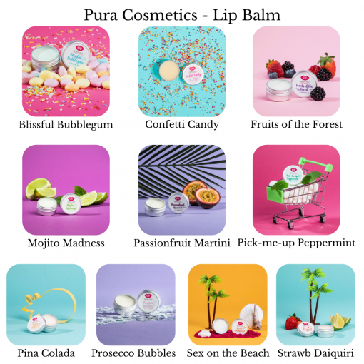 Pura Cosmetics - Lip Balms