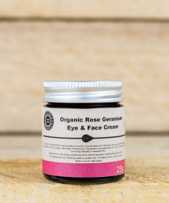 Heavenly Organics - Eye & Face Cream - Rose Geranium