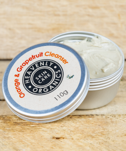 Heavenly Organics - Clay Facial Cleanser - Orange & Grapefruit