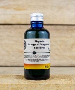 Heavenly Organics - Facial Oil - Orange & Grapefruit