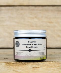 Heavenly Organics - Foot Cream - Lavender & Tea Tree