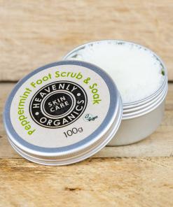 Heavenly Organics - Foot Scrub & Soak - Peppermint