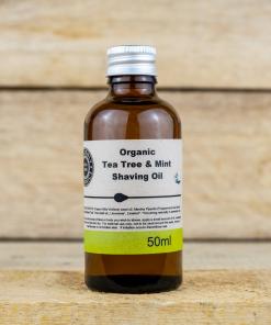 Heavenly Organics - Shaving Oil - Tea Tree & Mint