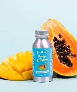 Pura Cosmetics - Hand Cleansing Gel - Mango & Papaya